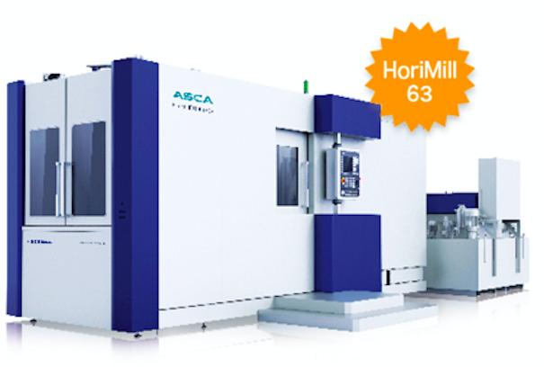 ASCA卧式加工中心HoriMill50v63v
